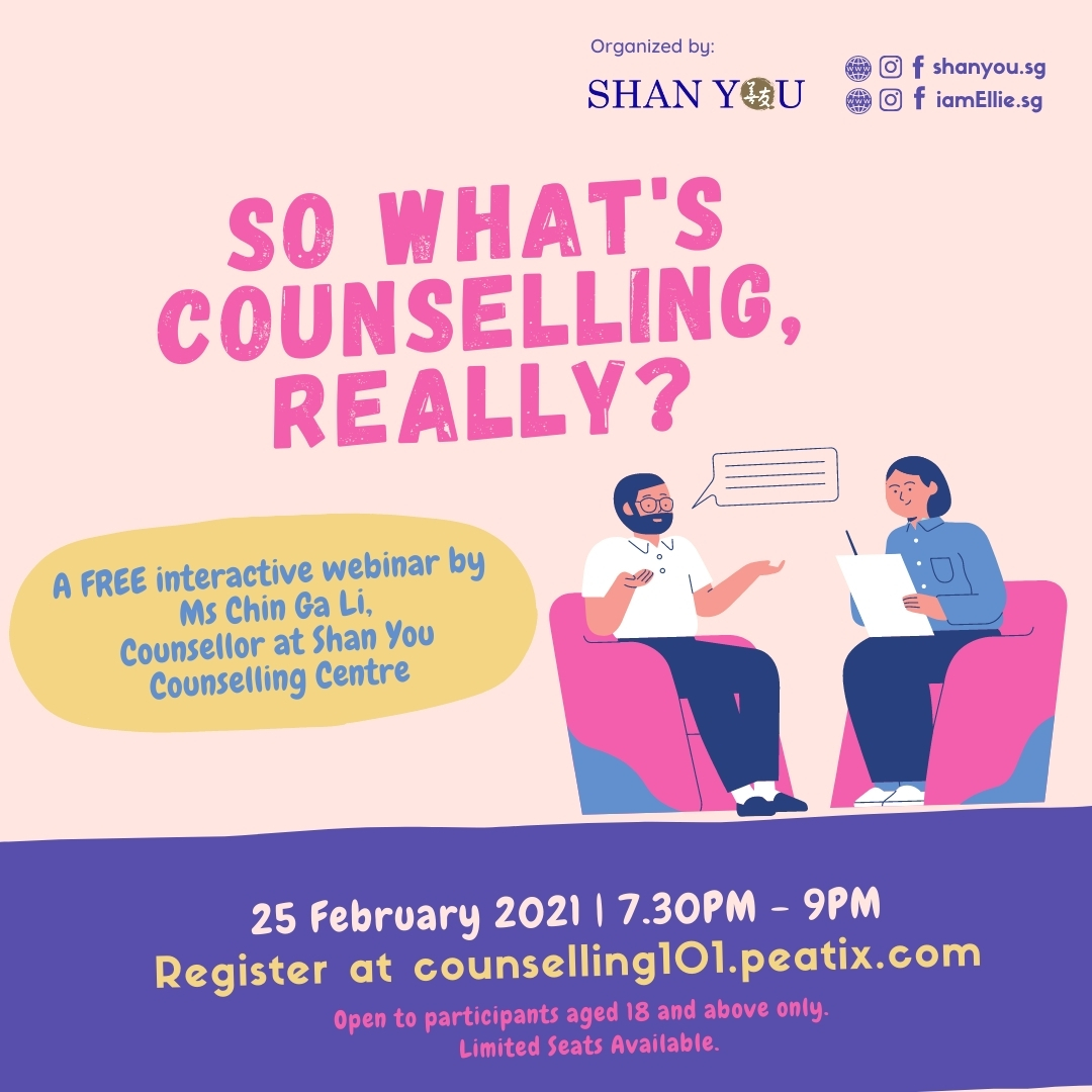 So What's Counselling, Really? A Free Interactive Webinar