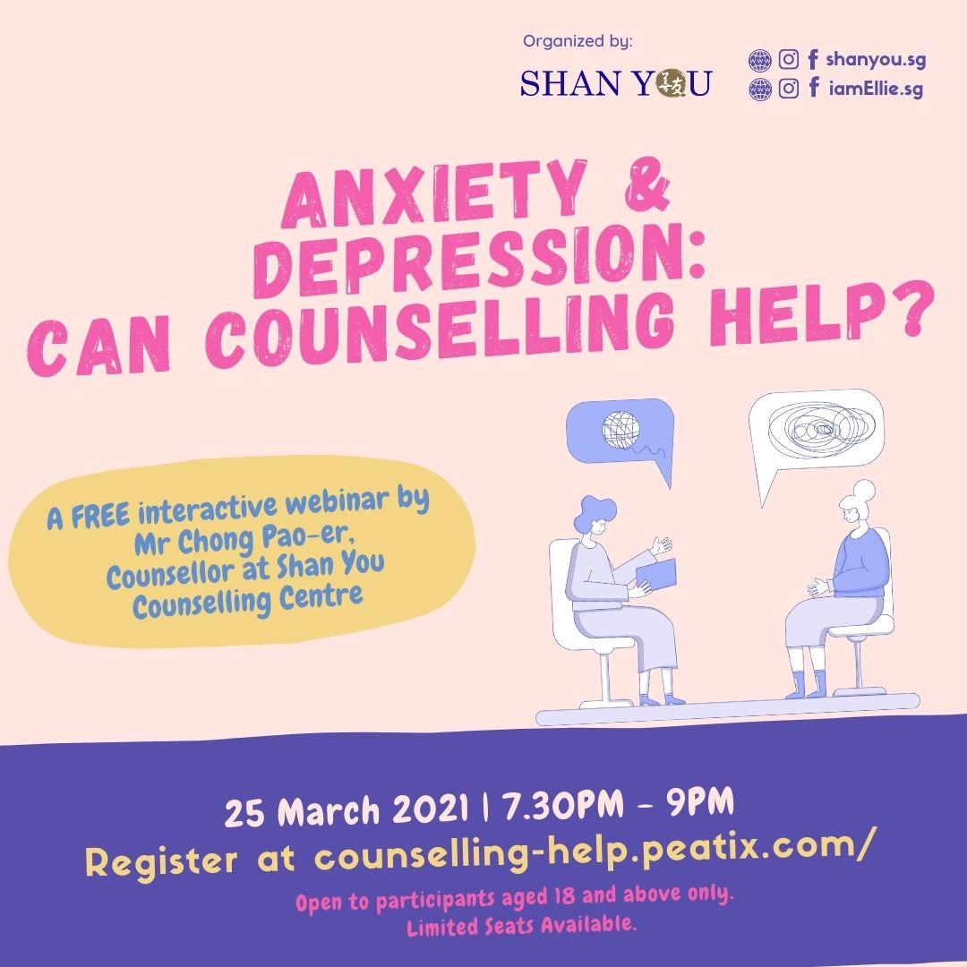 Anxiety & Depression: Can Counselling Help?